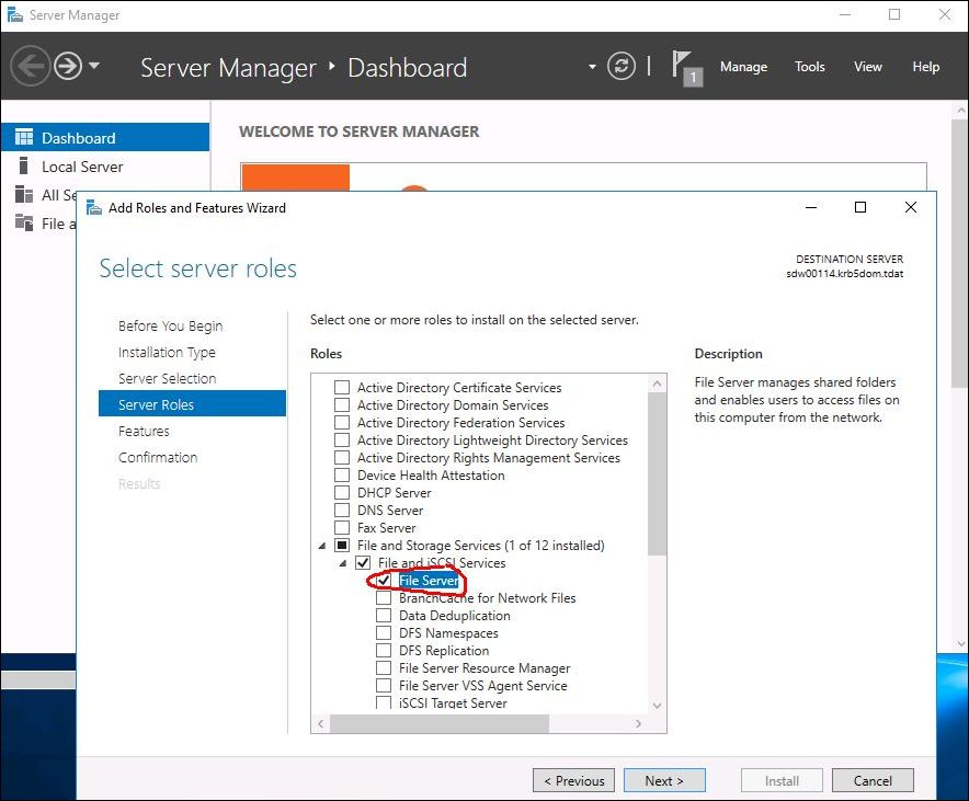 How to use Stored Password Protection with encrypted SMB