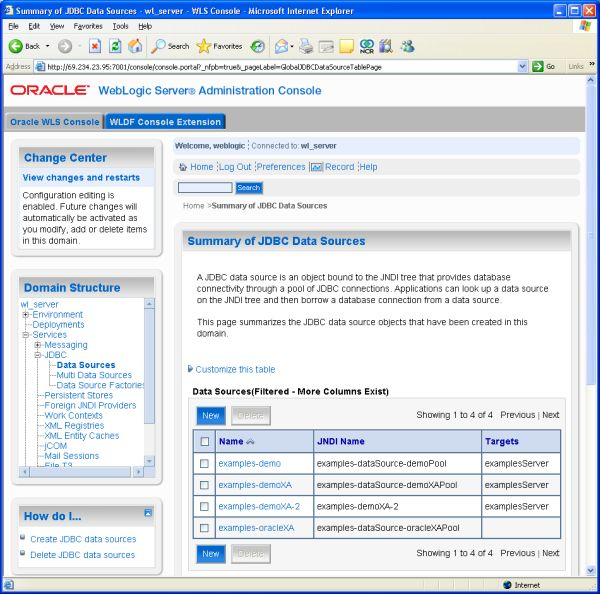 How to use the Teradata JDBC Driver with WebLogic 10 3
